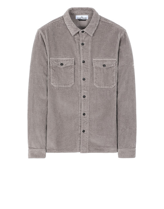 STONE ISLAND 12111 Long sleeve shirt Man Mud