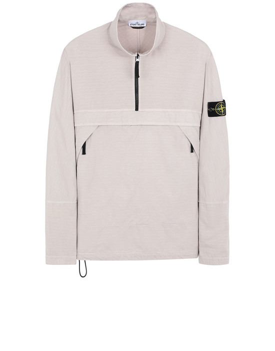 STONE ISLAND 10802 OVER SHIRT Man Dove Grey