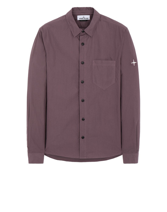STONE ISLAND 12501 Long sleeve shirt Man Magenta