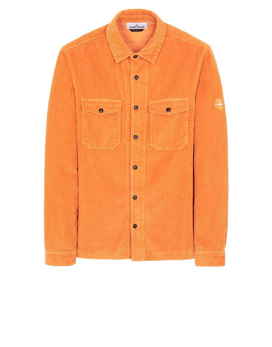 STONE ISLAND 12111 Long sleeve shirt Man Orange