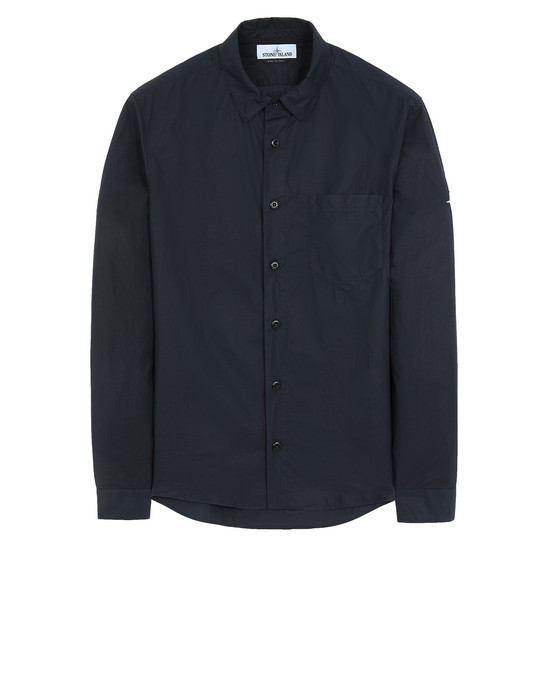 STONE ISLAND 12501 Long sleeve shirt Man Blue