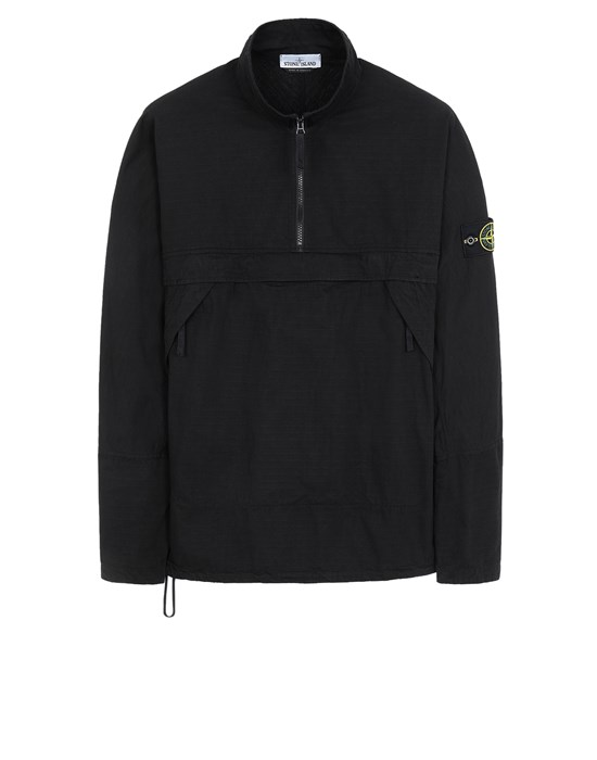 STONE ISLAND 10802 OVER SHIRT Man Black