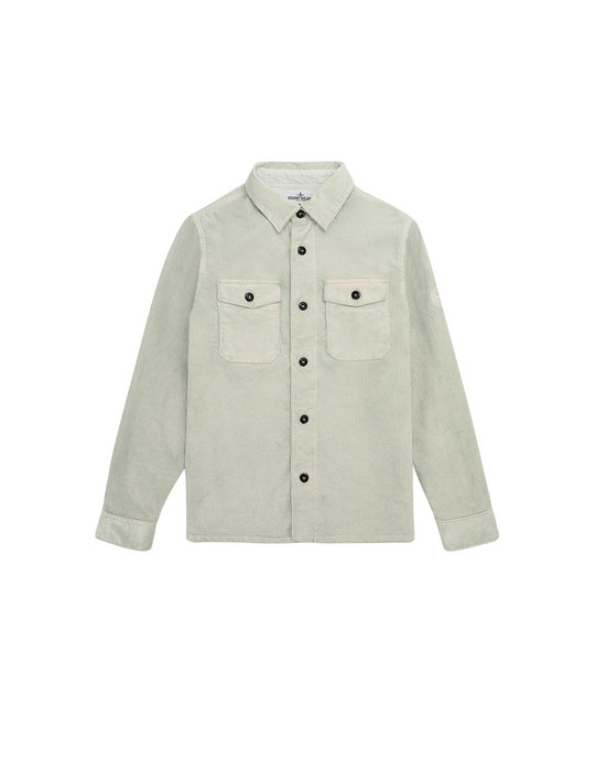 OVER SHIRT Herr 10845 Front STONE ISLAND JUNIOR