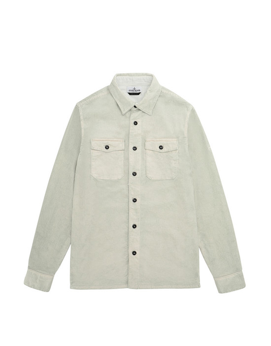 OVER SHIRT Herr 10845 Front STONE ISLAND TEEN