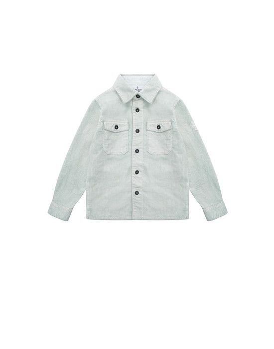 OVER SHIRT Man 10845 Front STONE ISLAND KIDS