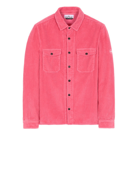 STONE ISLAND 12111 Long sleeve shirt Man Cyclamen