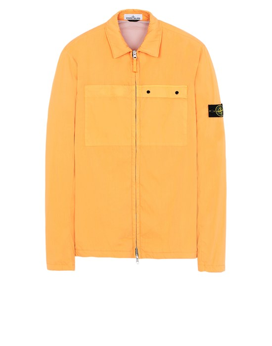 STONE ISLAND 10404 OVER SHIRT Man Orange