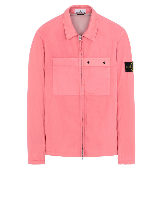 STONE ISLAND 10404 OVER SHIRT Man Cyclamen