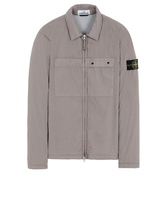 STONE ISLAND 10404 OVER SHIRT Man Mud