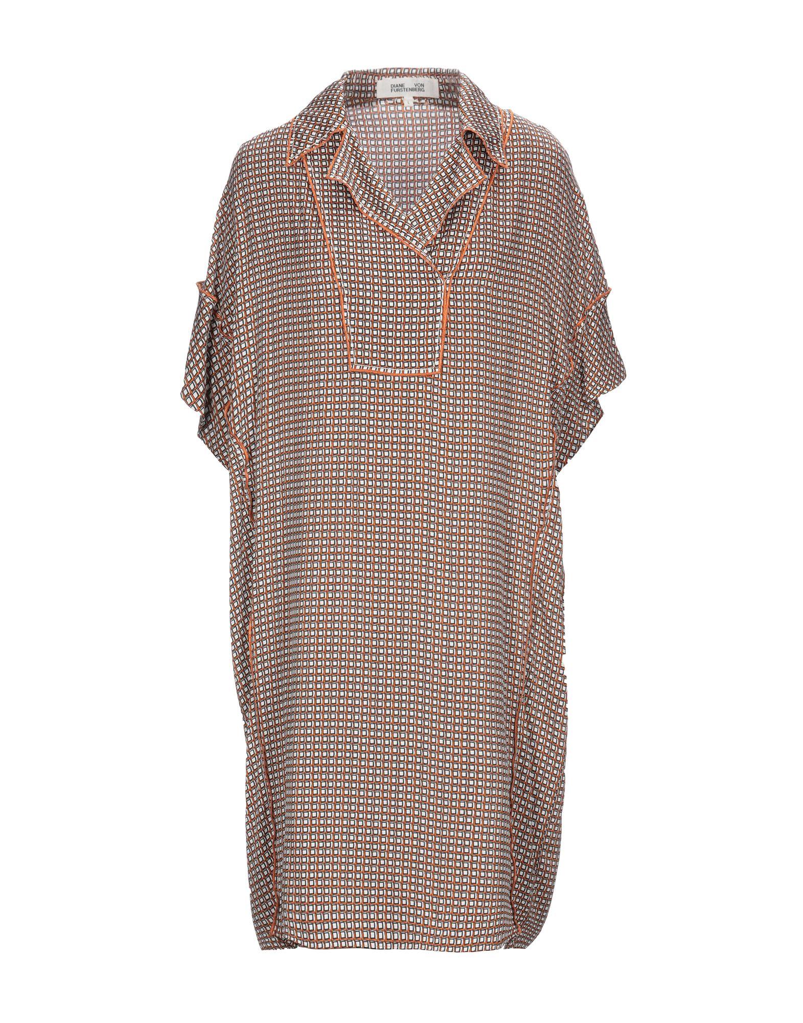 DIANE VON FURSTENBERG Короткое платье кимоно diane von furstenberg diane von furstenberg di001ewghwy4