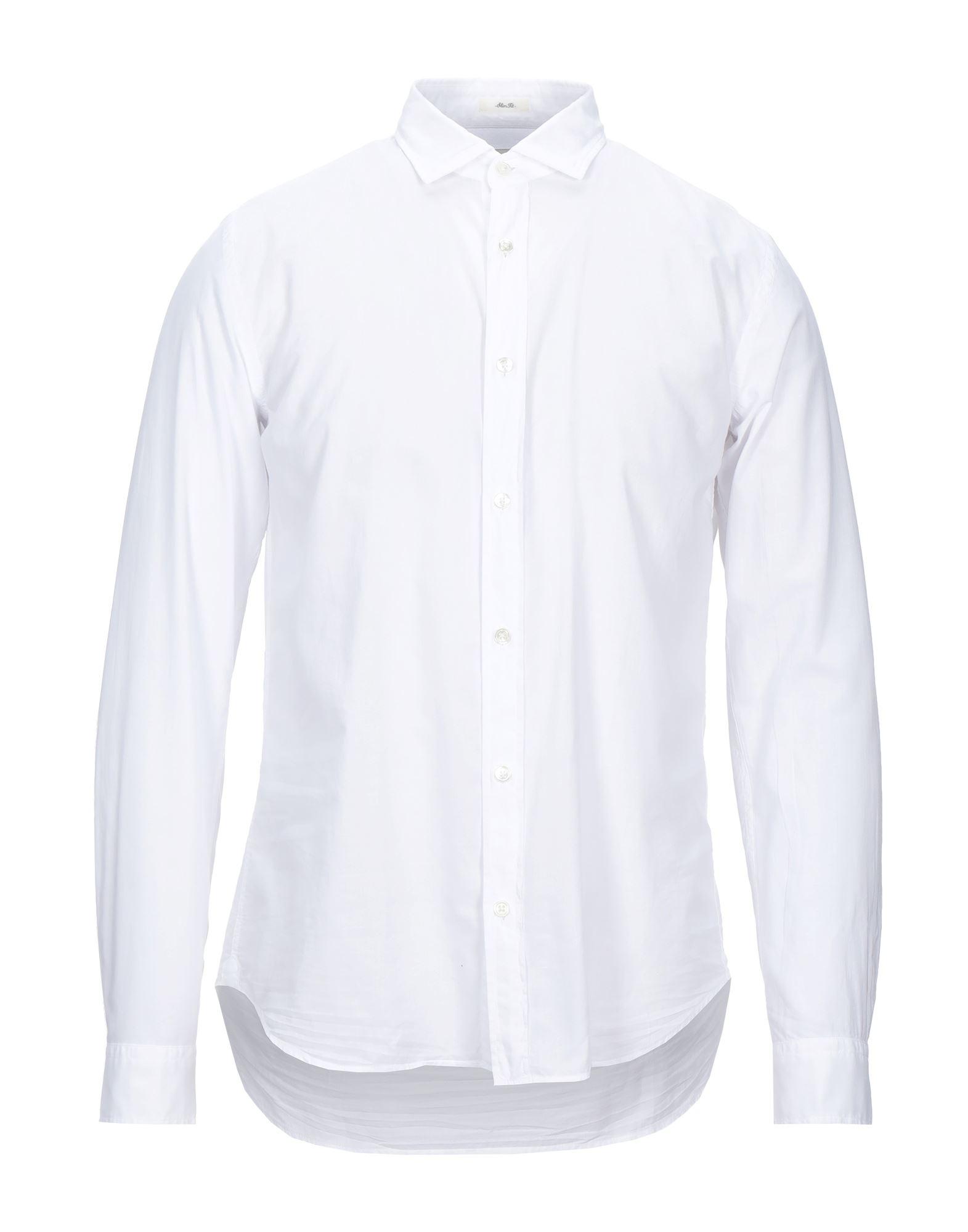 《セール開催中》HARTFORD メンズ シャツ ホワイト L コットン 100%