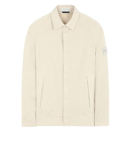STONE ISLAND 116F4 GHOST PIECE OVER SHIRT Man Beige