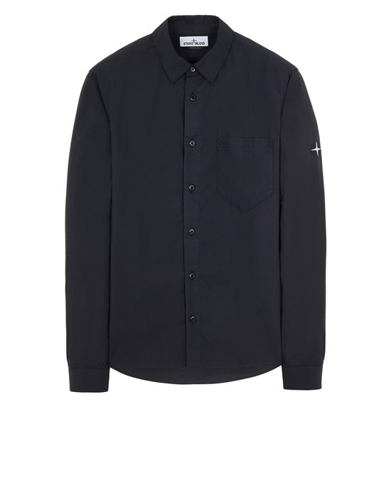 STONE ISLAND 12510 Long sleeve shirt Man Blue