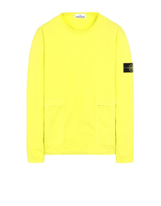 STONE ISLAND 10619 Over Shirt Man Pistachio Green