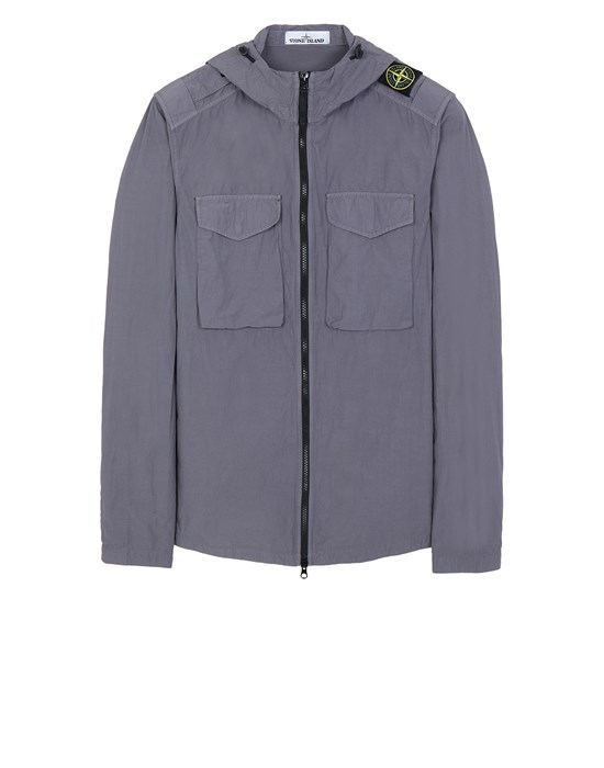 STONE ISLAND 11602 NASLAN LIGHT  Over Shirt Man Blue Grey