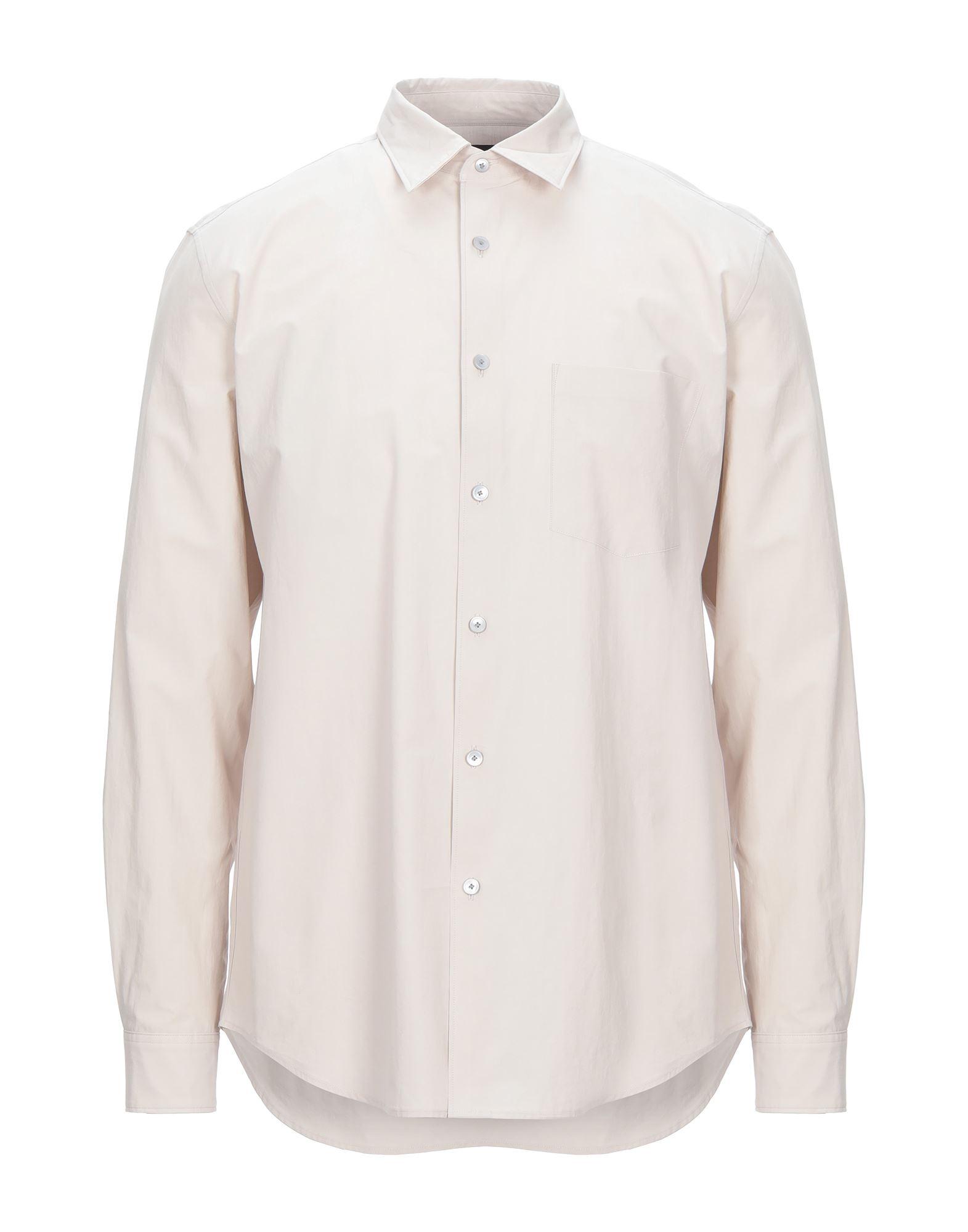 《セール開催中》THEORY メンズ シャツ ライトピンク S コットン 100%