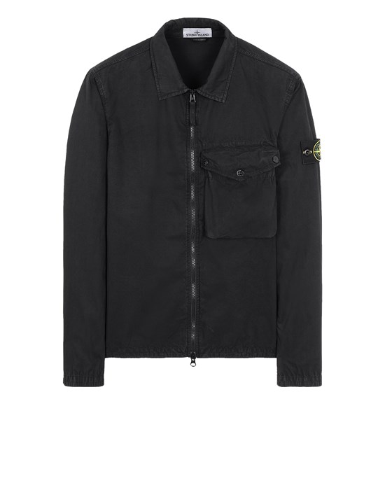STONE ISLAND 117WN T.CO 'OLD'	 OVER SHIRT Man Black