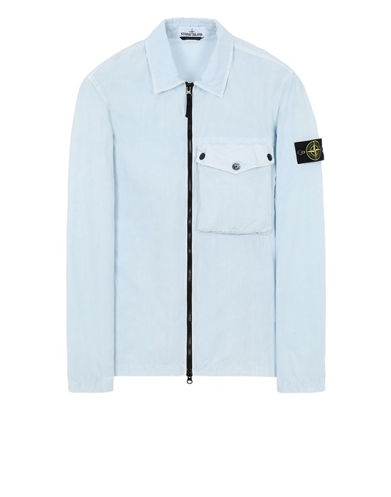 STONE ISLAND 117WN T.CO 'OLD'	 OVER SHIRT Man Sky Blue