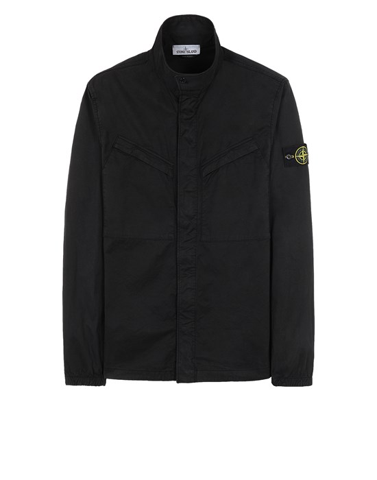 STONE ISLAND 10119 Over Shirt Man Black