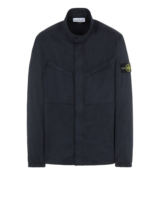 STONE ISLAND 10119 Over Shirt Herr Blau