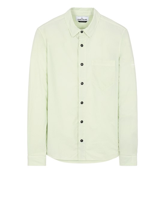 STONE ISLAND 12510 Long sleeve shirt Man Light Green