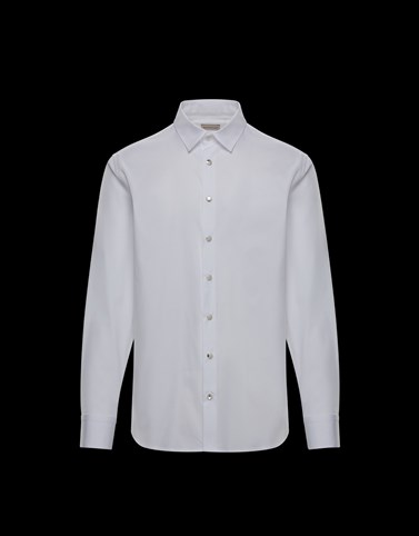 CHEMISE Blanc Catégorie Chemises manches longues Homme