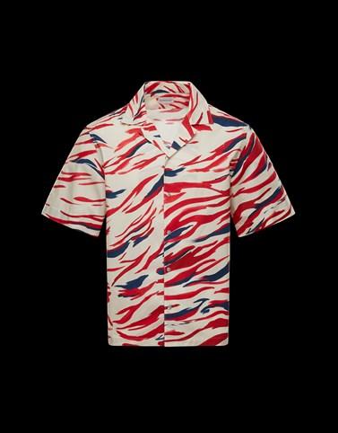 CAMICIA Colore Avorio Categoria Camicie maniche corte Uomo