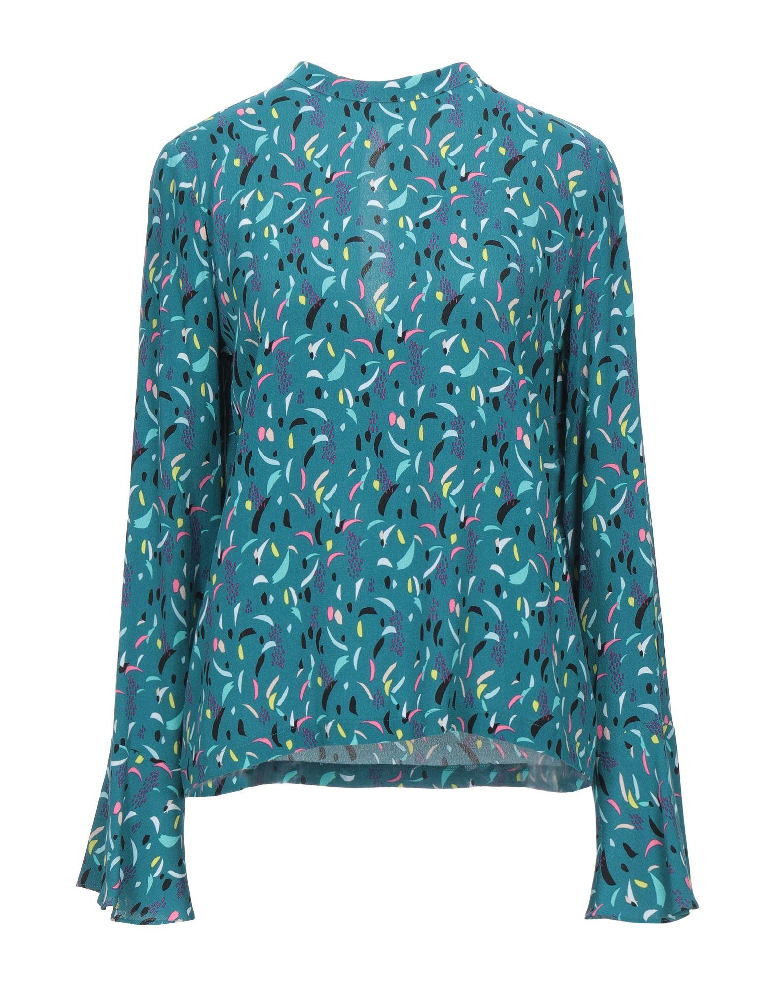 блузка женская pepe jeans цвет голубой 097 pl303212 0aa размер xs 40 PEPE JEANS Блузка