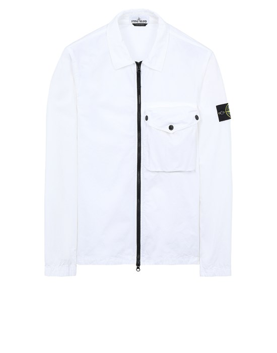 STONE ISLAND 117WN T.CO 'OLD' Over Shirt Herr Weiß