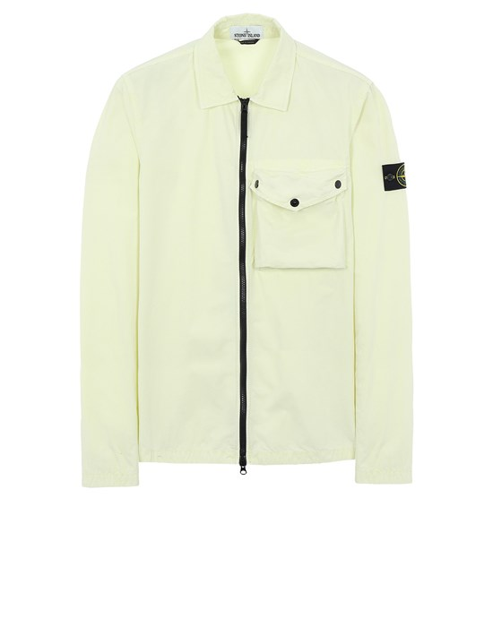 STONE ISLAND 117WN T.CO 'OLD' Over Shirt Man Lemon