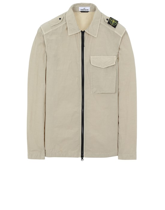 STONE ISLAND 10802 NASLAN LIGHT Over Shirt Man Sand