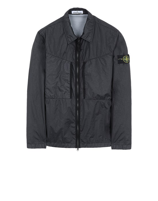 STONE ISLAND 10523 MEMBRANA 3L TC  Over Shirt Man Black