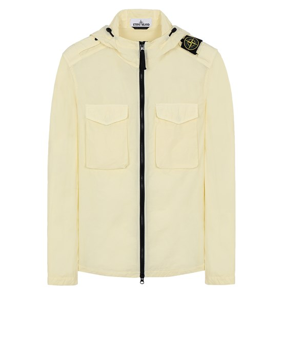 STONE ISLAND 11602 NASLAN LIGHT  Over Shirt Man Lemon