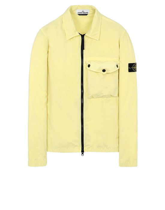 STONE ISLAND 117WN T.CO 'OLD' Over Shirt Man Pistachio Green