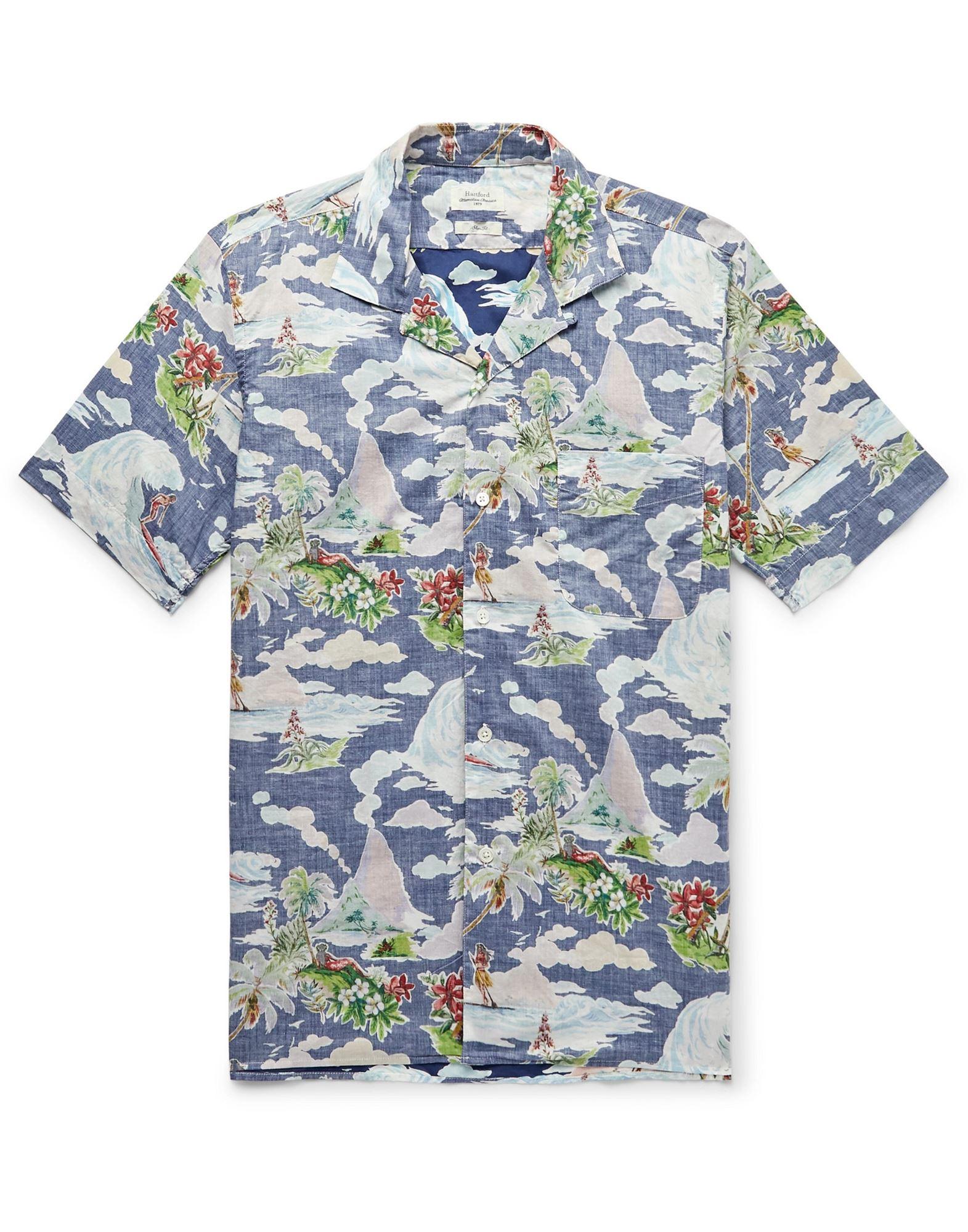 HARTFORD Pубашка hartford футболка