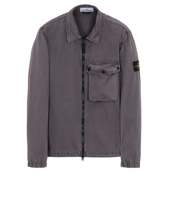 Over Shirt Herr 117WN T.CO 'OLD' Front STONE ISLAND