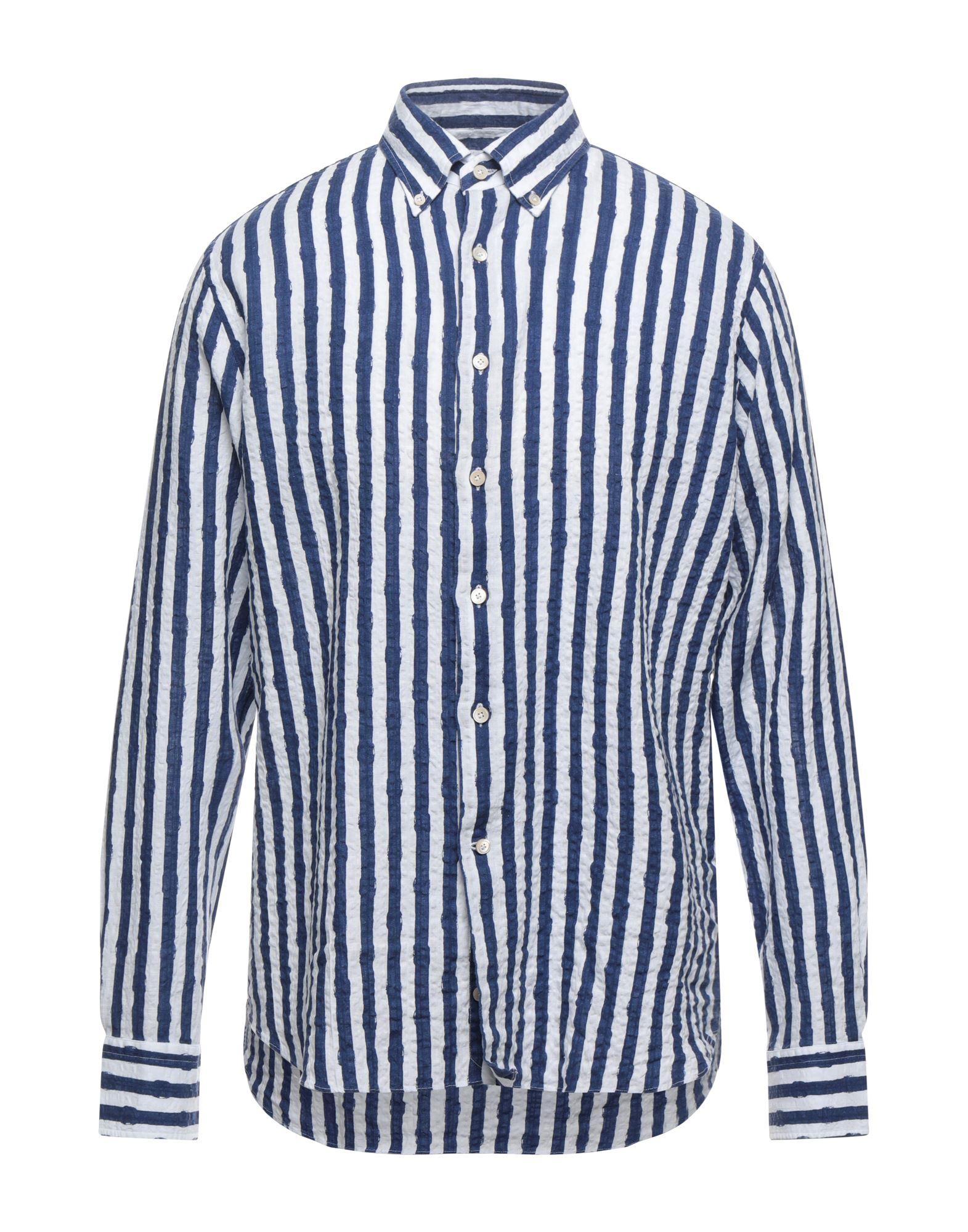 Alessandro Gherardi Shirts In Blue