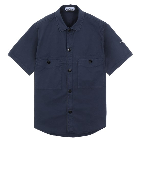 Over Shirt Herr 11819 Front STONE ISLAND