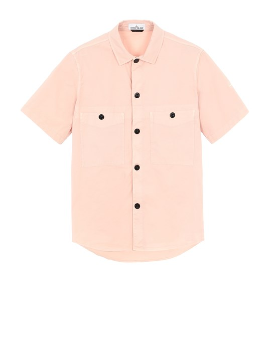 STONE ISLAND 11819 Over Shirt Man Pastel pink