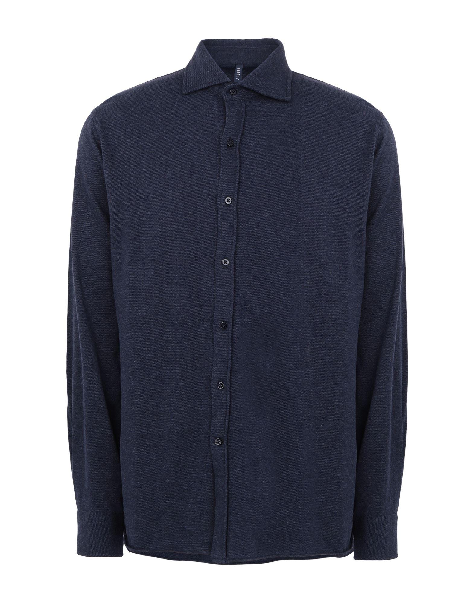 04651/a Trip In A Bag Shirts In Dark Blue