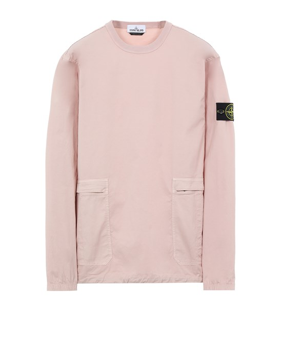 STONE ISLAND 10619 Over Shirt Man Pastel pink