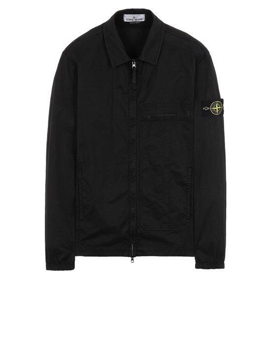 STONE ISLAND 10319 Over Shirt Man Black