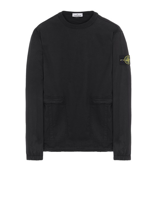 STONE ISLAND 10619 Over Shirt Man Black
