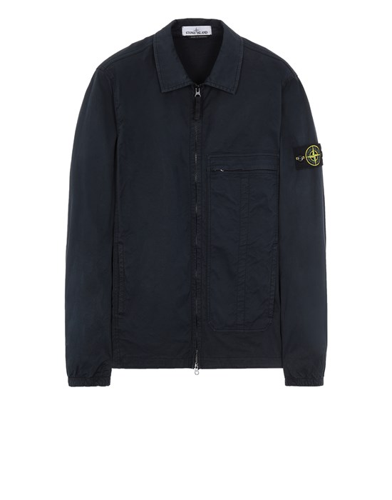 STONE ISLAND 10319 Over Shirt Man Blue