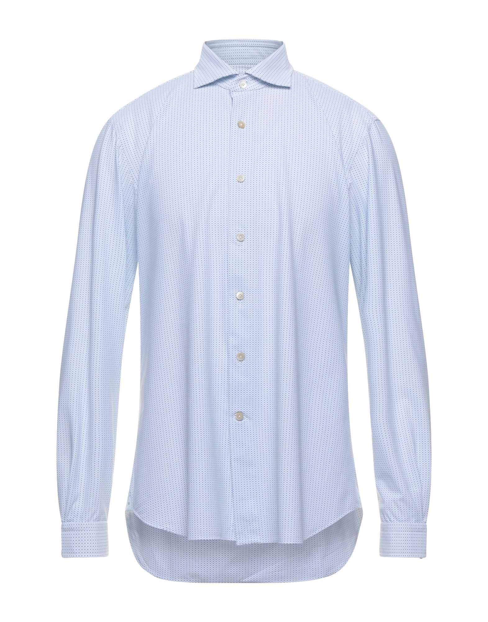 Alessandro Gherardi Shirts In Sky Blue