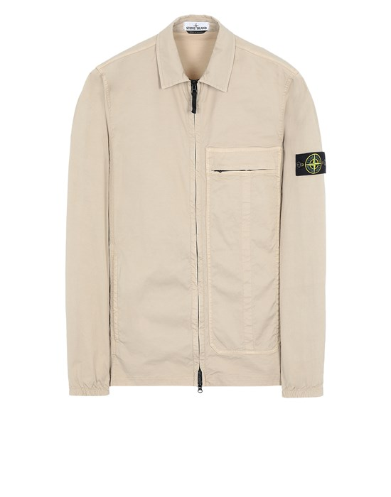 STONE ISLAND 10319 Over Shirt Man Sand
