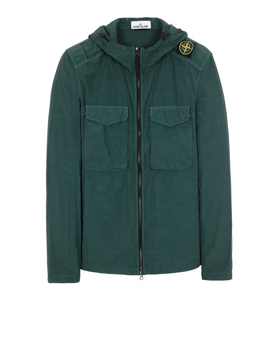 STONE ISLAND 11602 NASLAN LIGHT  衬衫外套 男士 石油色