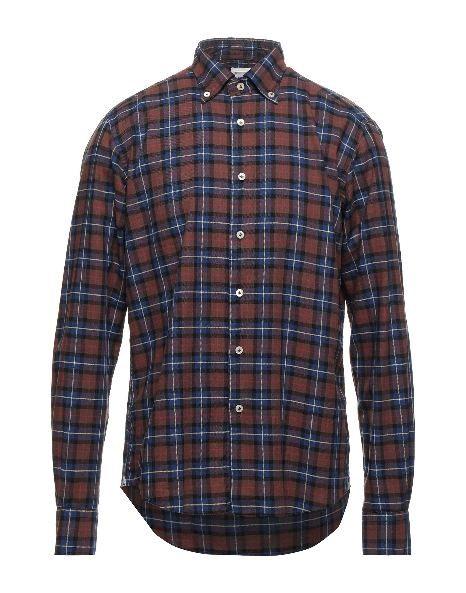 Alex Ingh Shirts In Brown