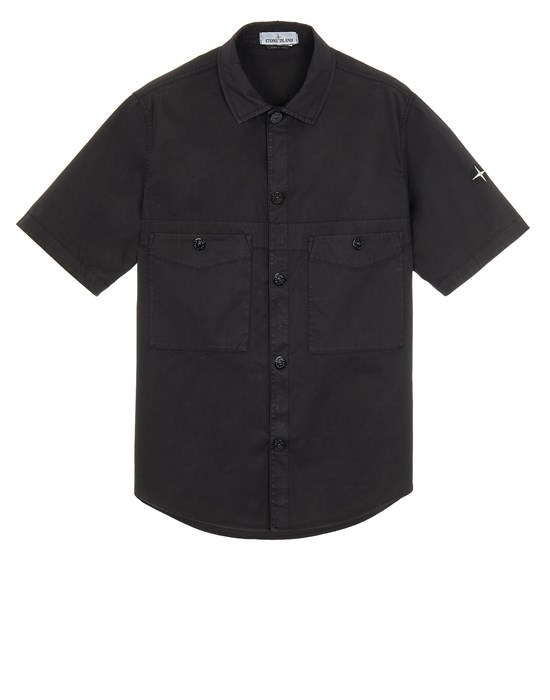 STONE ISLAND 11819 Over Shirt Man Black
