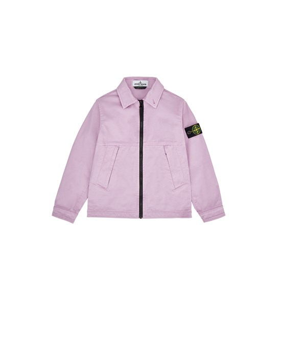 STONE ISLAND KIDS 10711 Over Shirt Man Pink Quartz